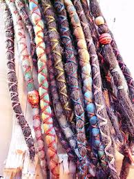 boho hair wraps 10 custom standard clip in or braid in synthetic dreadlock