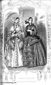upon dressmaking circa 1851