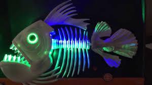 target halloween prop animated skeletal fish singing i will