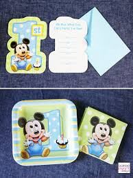 mickey mouse 1st birthday boy mickey mouse birthday party ideas soiree event design