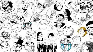 Meme Faces Download - troll face background 68 images