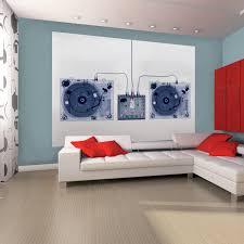 x ray dj decks 1 wall murals touch of modern