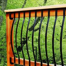 black aluminum deck spindles doherty house aluminum deck