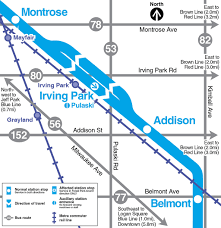 Chicago O Hare Airport Map by Cta Customer Alert Details