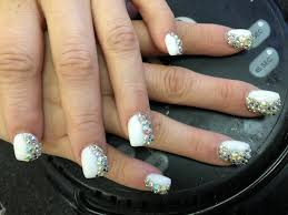 acrylic nail designs with diamonds choice image nail art designs
