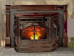 Cast Iron Fireplace Insert by Insert Vintage Corn Pellet Stove Cast Iron Antique Frame Replica New