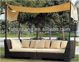 outdoor patio wicker furniture pool lounge all weather garden round