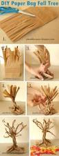 diy paper bag fall tree pictures photos and images for facebook