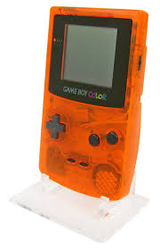 Gameboy Color Display Stand Rose Colored Gaming Gameboy Color