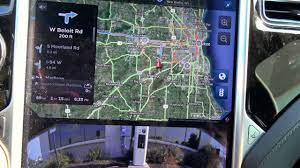 Map Route Planner by Tesla Motors Trip Planner Power To Continue On Route Youtube