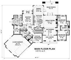 ranch floor plans with split bedrooms 5 reasons to split bedroom designs the house designers