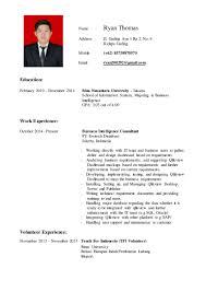 Java Web Developer Resume Sample by Ryan U0027s Resume