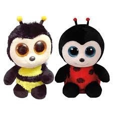 shop ty beanie boos black bees big eyes animals