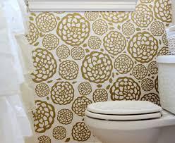 floral faux wallpaper