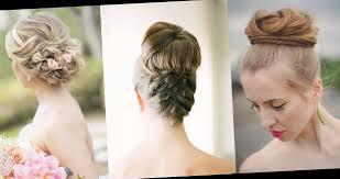 coiffure pour mariage cheveux mi coiffure pour un mariage invite cheveux mi les tendances