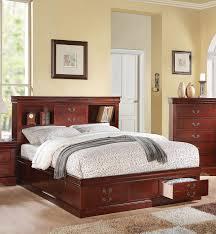 Bookcase Bed Queen Furniture Home Queen Bookcase Headboardbookcase Bed Queen New