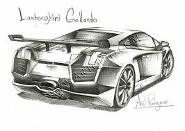 supercar drawing drawings lamborghini gallardo page 5668 art by independent artists