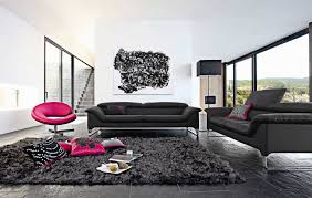Black And Pink Rugs Furniture Gorgeous Roche Bobois Furniture With Black Rug And
