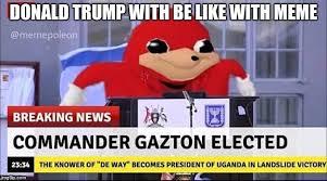 Donald Meme - donald trump with be like with meme meme