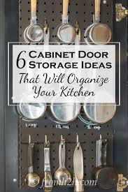 Kitchen Cabinet Door Organizers 1663 Best Organization And Cleaning Images On Pinterest