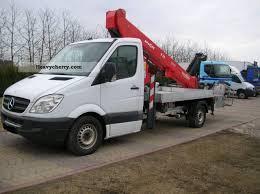 mercedes work truck mercedes sprinter 315 fassi t20 2008 hydraulic work platform