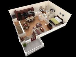 One Bedroom HouseApartment Plans - One bedroom house designs