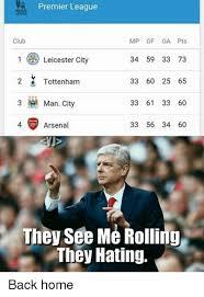 Arsenal Tottenham Meme - tottenham leicester memes memes pics 2018