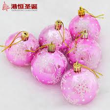 aliexpress com buy 6cm light painted snowflke christmas balls