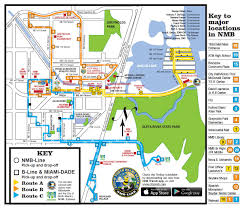 Map Of South Beach Miami by Nmb Line City Of North Miami Beach Florida
