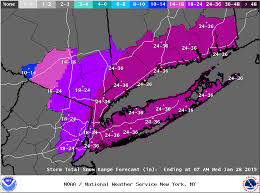 Snow Forecast Map Why The Snow Forecast For New York City Was So Bad And What