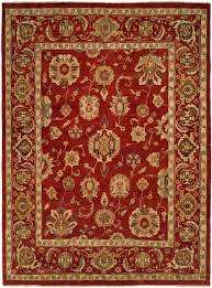 10 Square Area Rugs Usak Red 10 U0027 Square Area Rug Buy Online
