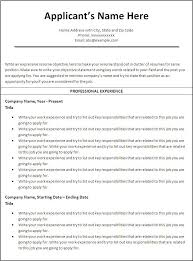 General Resume Sample by Example Of A Good Resume Format Sample Resume By Easyjob No