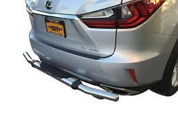 lexus rear bumper 16 17 lexus rx350 rx450h rear bumper protector guard single tube s s