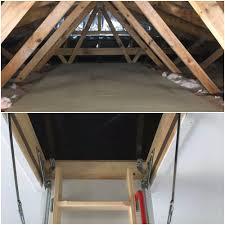 attic area attic ladder and basic attic storage u2013 wellington point qld roof