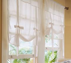 White Cafe Curtains White Linen Cafe Curtains Best Curtains Design 2016