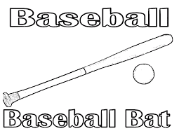 baseball coloring pages 2 coloring kids