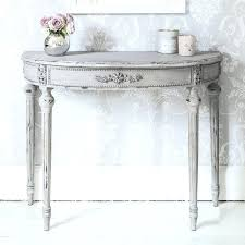 small half moon console table with drawer half moon entry table half moon console table with console table