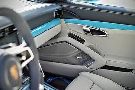 porsche graphite blue interior best interior color for miami blue exterior on a 718 boxster gts