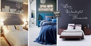 le murale chambre écriture murale dans la chambre à coucher voici 20 idées