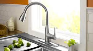Kitchen Sink Faucet With Sprayer Wonderful Stainless Steel Kitchen Sink Faucet Mixed Tile Ceramic