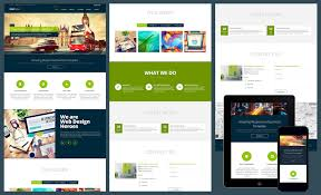 one page business website template 12 free responsive business