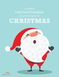 christmas calendar christmas countdown calendar cfire marshmallows