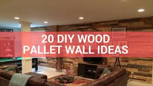 Photo Wall Ideas by 20 Diy Wood Pallet Wall Ideas Youtube