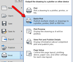 how to publish multiple drawings into pdf in autocad autocad