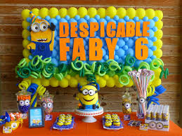minions party ideas minions birthday party ideas photo 3 of 39 catch my party