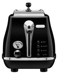 Best 2 Slice Toaster Delonghi 2 Slice Toaster Black Cto2003bk Best Buy