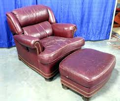 reclining back chair with ottoman marvelous hancock and moore recliner lot of leather tilt back chair