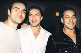 Salman, Sohail and Arbaaz Khan