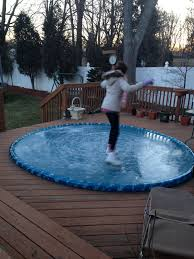 easy backyard rink outdoor furniture design and ideas