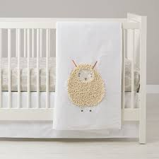 gender neutral lamb nursery the land of nod